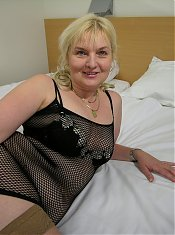 Granny gives you a peek at her fanny